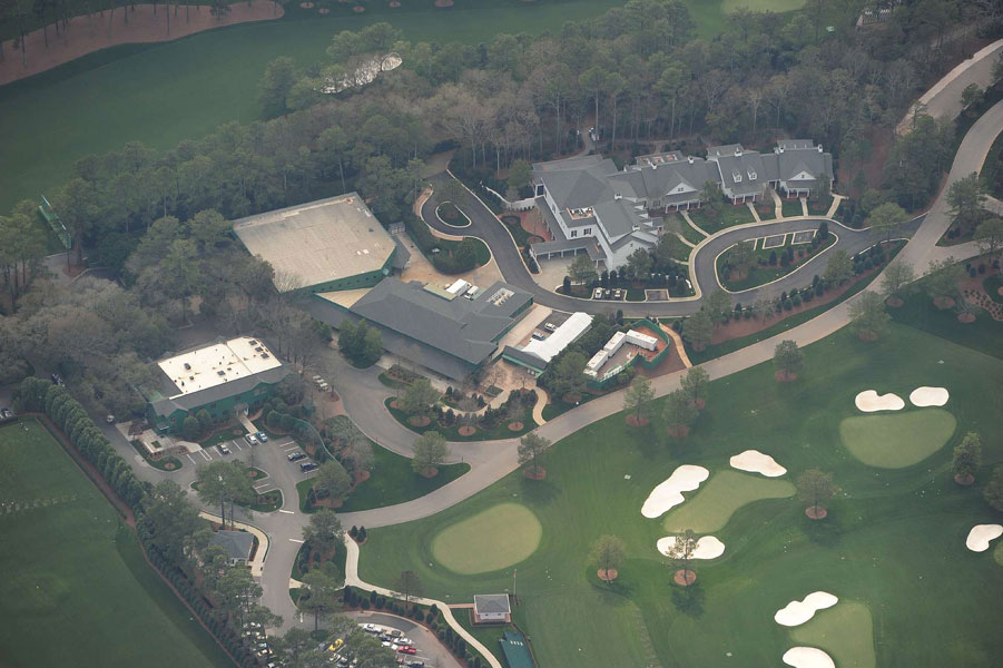 2010: The latest significant changes to Augusta National were hardly a secret. SI knew for years that the club was interested in improving parking and, more important, upgrading the practice grounds, and had been gobbling up all the real estate across the street on Berckmans Road.