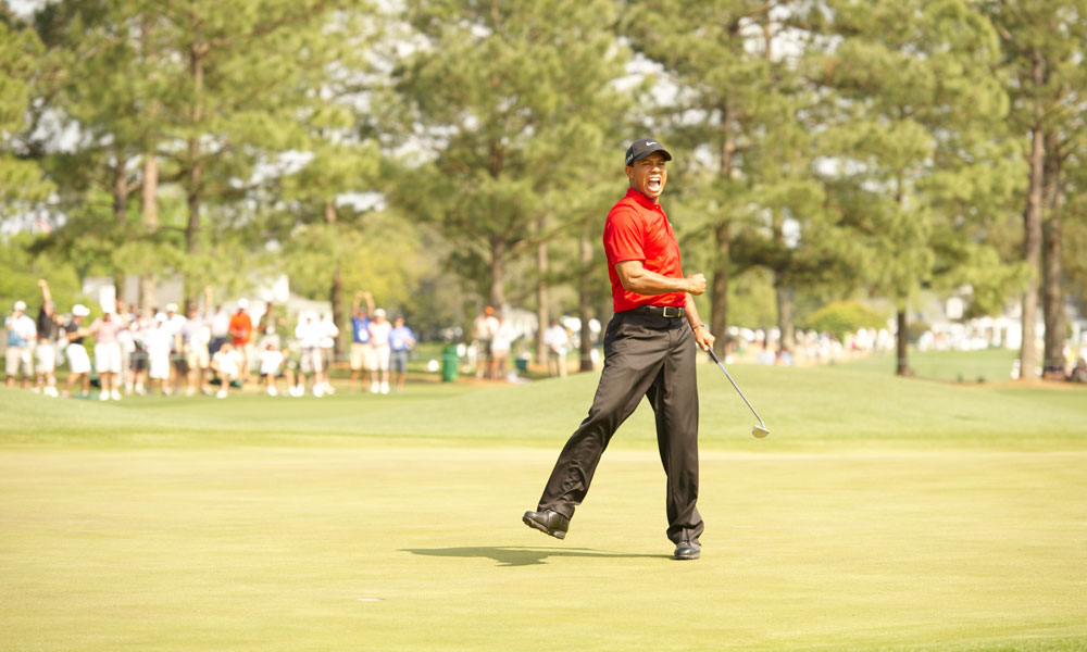 Woods shot a final-round 67 to tie for fourth at the 2011 Masters.