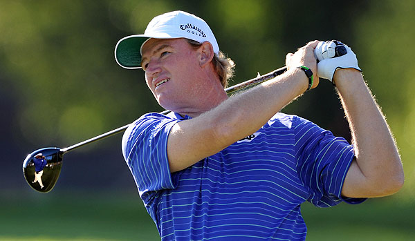 After shooting a 71 Thursday, Ernie Els made seven bogeys on his way to a second-round 75.