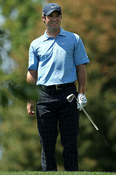 Trevor Immelman started with a double bogey and shot a 6-over 76.