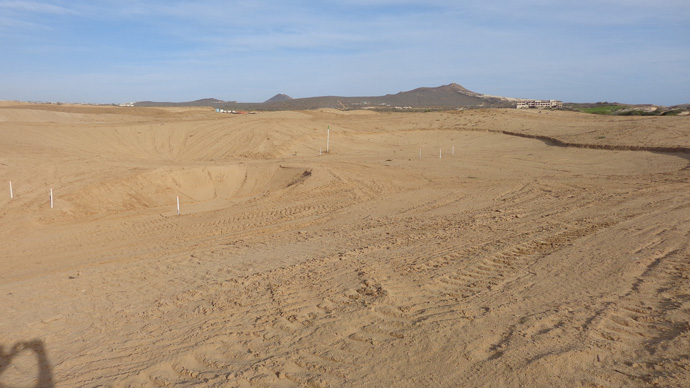 Another view of the tee at No. 2.More information at diamantecabosanlucas.com