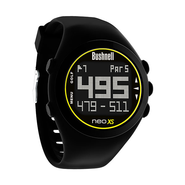 Bushnell Golf NEO XS Golf GPS Rangefinder Watch ($199.99; Buy Now): The NEO XS is a GPS rangefinder preloaded with over 33,000 courses in more than 30 countries to provide you with instant distance measurements.
