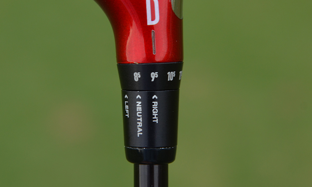 Nike's adjustable sleeve has been upgraded for the Covert Performance driver, allowing independent  adjustment of the face angle into three different settings; the club's loft can be set between 8.5  and 12.5 degrees.
