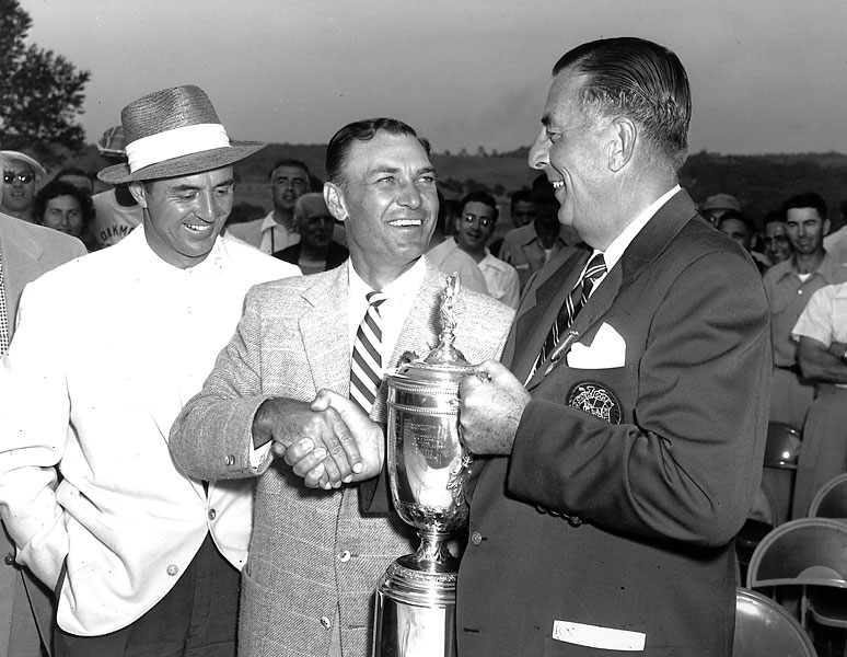 Hogan won his second straight major, and fourth U.S. Open, in 1953 at Oakmont.