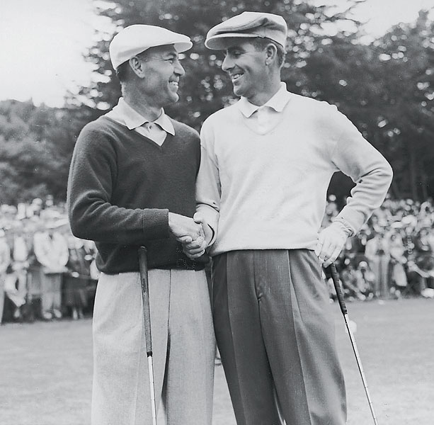 In the 1955 U.S. Open at the Olympic Club in San Francisco, Hogan finished second to Jack Fleck in one of the biggest upsets in golf history.