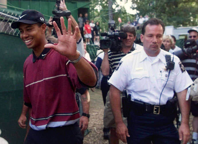 No. 5 | 1999:  Golf's golden child, Tiger Woods, had already wowed the world, but coming into Medinah, had only captured one major, the 1997 Masters. That all changed in a tension-charged duel with Sergio Garcia, the 19-year-old Spaniard. Garcia's hit-and-pray 6-iron next to an oak at 16 came off miraculously, even as his eyes were closed, but Woods would close him out at the 72nd hole.