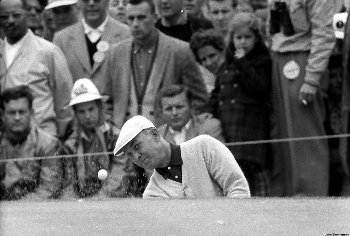 At the 1961 U.S. Open, he tied for 14th. He played only two more U.S. Opens after that, in 1966 and 1967.