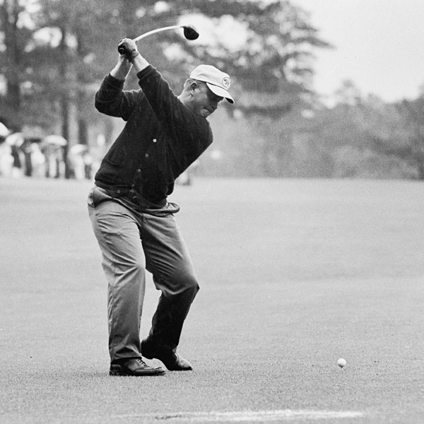 With power to spare and the ability to shape shots, Nicklaus's game was tailor made for Augusta National. He won his first Masters in 1963.