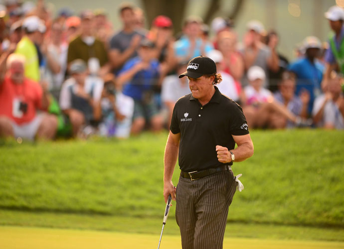 Phil is having an off year, and that's going to kill the Americans, who desperately need his veteran leadership.  Wrong. Team USA supporters should feel optimistic precisely because Mickelson has done almost nothing in 2014. In the past, he's gotten to this point in the season with little left to prove, but this year Mickelson has one last chance to salvage what has been an utterly forgettable 2014. He's 44, but the Mickelson magic is still in there. Sometimes it just takes a big stage (like the PGA Championship, or the Ryder Cup) to bring it out.