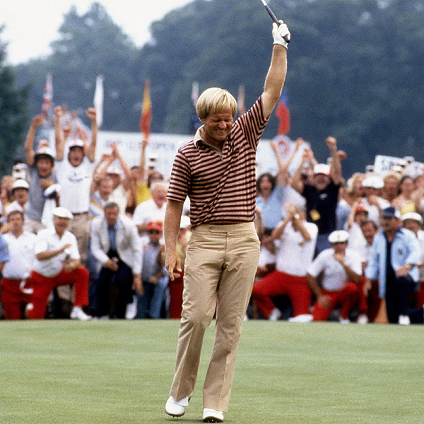 Jack is Back! In 1980, Nicklaus won his first U.S. Open in eight years (and 18 years after winning his first), when he out-dueled Isao Aoki at Baltusrol Golf Club.