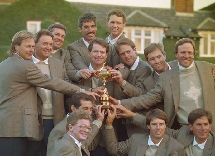 "8. Luck                             This is what Paul Azinger wrote after the 1993 Ryder Cup: ""Watson told us on the plane on the way over, 'Boys, I want you to know one thing: I'm lucky. And I don't expect my luck to run out at the Ryder Cup.' You don't win five British Opens without having some good luck."" Ol' Tom is still lucky."