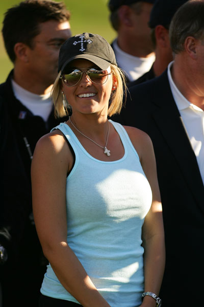 Richelle Baddeley, won of Aaron Baddeley, at the 2007 FBR Open.