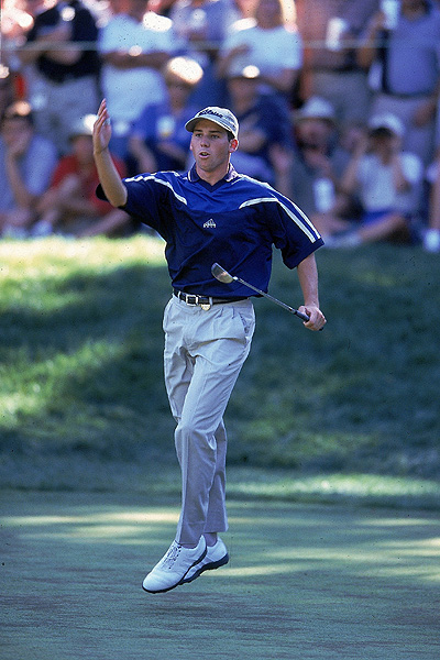 Sergio Garcia's Highs & Lows                           Fans of Sergio Garcia have enjoyed some of the greatest days in golf's history, as well as some disappointing losses. Here is a look at the highs and lows of El Nino.                                                      1999 PGA Championship                           Medinah Country Club                           Medinah, Illinois                           A 19-year-old Garcia burst onto the scene at the PGA Championship, going toe-to-toe with Tiger Woods. The Spaniard eventually succumbed to the world's No. 1, but Garcia's talent and promise stole the show.