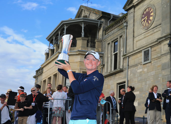 Lewis won her second career major later that year on the historic Old Course at St. Andrews. She shot an even-par 72 in the final round to secure a two-shot victory, her third of the 2013 season.