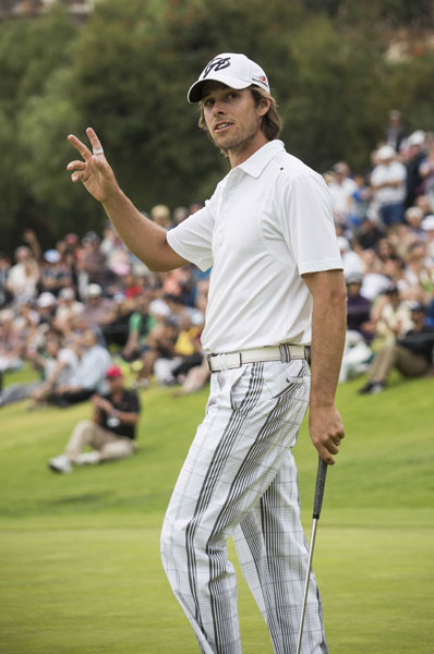 Like Phil Mickelson, Australian Aaron Baddeley maintains a handicap at Whisper Rock Golf Club in Scottsdale, Ariz. Baddeley is a +4.7 there.