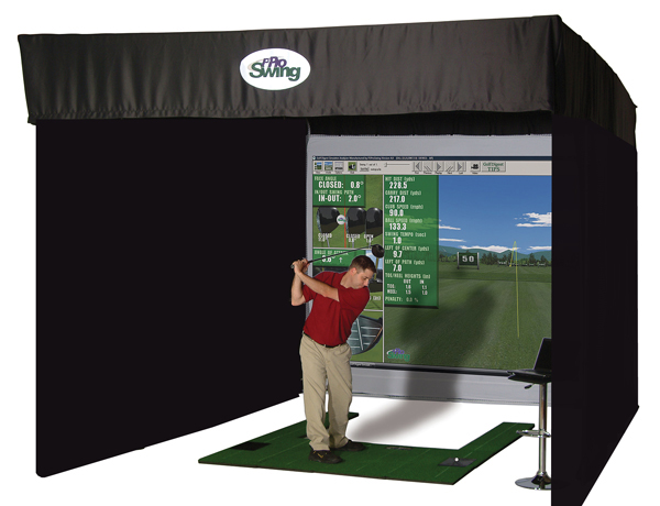 P3ProSwing Ace Virtual Golf Studio                       $8,400-$18,400, p3proswing.com