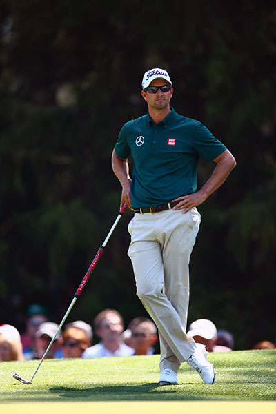 "After his round, Scott said that he's never felt more comfortable at Augusta National. ""In a sense, winning last year took the pressure off,"" Scott told the Associated Press. ""What's the worst that can happen? I'm still a Masters champion."""
