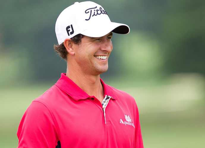 Adam Scott, Rickie Fowler or Jordan Spieth?                         LPGA player responses:                         ADAM: 91 percent                          RICKIE: 6 percent                          JORDAN: 3 percent