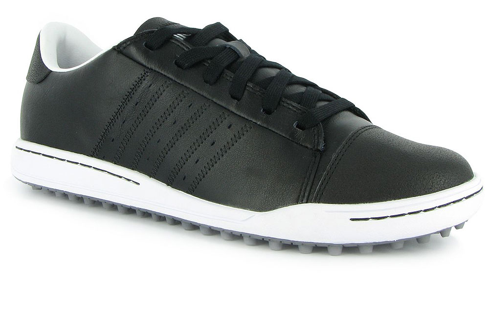 Adidas Adicross Street Golf Shoes                       $90, adidasgolf.com                       The Adidas Street golf shoes are designed to allow your foot to flex and move more naturally as you swing, but don't let the casual looks fool you into thinking they can't keep your feet firmly on the ground. There are 124 lugs on the soles to provide you with plenty of grip. Justin Rose wore a pair en route to winning the BMW Championship in September.