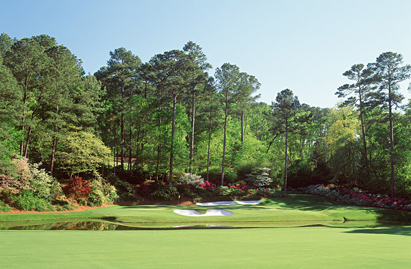 "Hole No. 12                       Augusta National                       Augusta, Georgia                       12th hole; par 3, 155 yards                                              Jack Nicklaus calls it ""the most demanding par-3 in the world."" Not convinced? Ask Tom Weiskopf, who took 13 shots here in the 1980 Masters. With the unpredictable swirling winds down in Amen Corner, club selection is often pure guesswork. Couple that with a slender, diagonal green that arcs from front-left to back-right, plus a scary downhill chip, sand shot or chop out from the azaleas for those who hit it a shade too long. The 12th is the prettiest nightmare in golf."