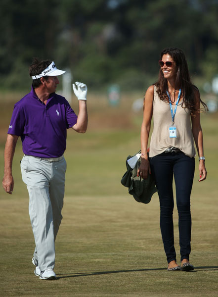 Alicia Fernandez-Castano is married to European PGA Tour player Gonzalo Fernandez-Castano.