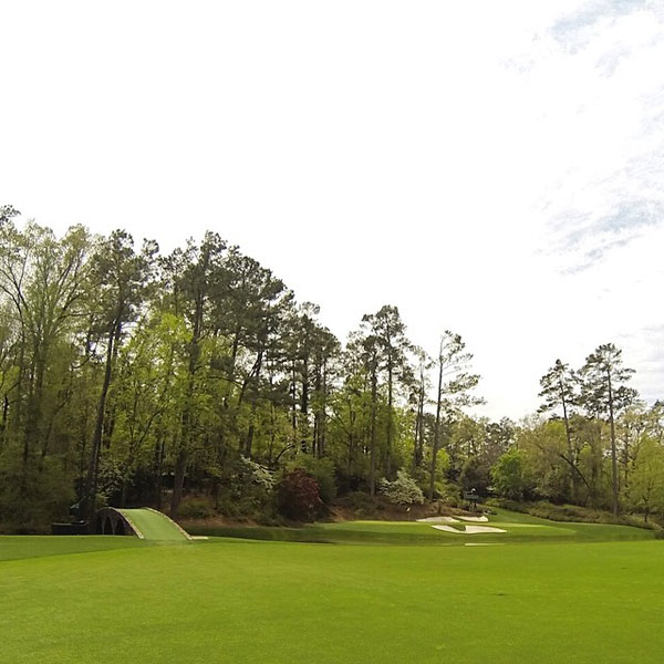 "Shouting at Amen Corner: Amen Corner generally describes the 11th, 12th and 13th holes, though more precisely, it's the second half of the 11th, all of the 12th and the first half of 13. Sports Illustrated's Herbert Warren Wind coined the phrase in the April 21, 1958 issue, basing it on a mid-1930s jazz recording he remembered called ""Shouting at Amen Corner"" by Mezz Mezzrow. Wind found a perfect moniker to describe where so much pivotal action took place, even if the actual recording, ""Shoutin' in that Amen Corner,"" was made by the Dorsey Brothers Orchestra, with Mildred Bailey on vocals."