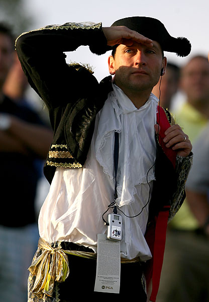Even this matador couldn't stop the American charge in the 2008 Ryder Cup.
