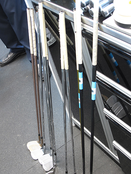 Angel Cabrera is starting his 2011 season this week at Torrey Pines. The Argentine asked Ping to re-grip all his clubs before he went to practice Monday morning.