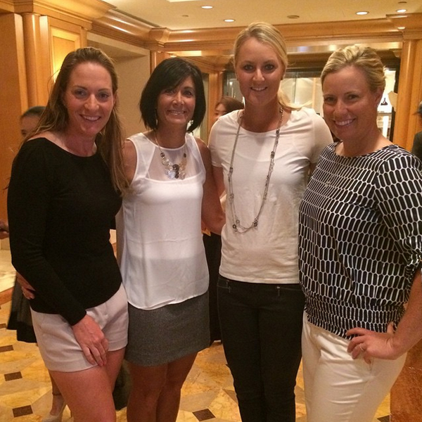 @a_nordqvist The girls ready for pro am dinner in Taiwan!! #Diaz #Lincicome #blang