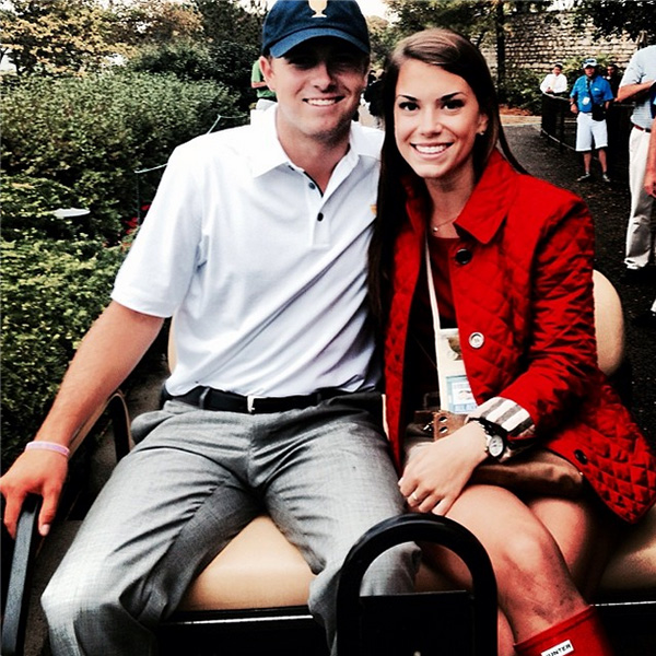 @jordanspieth My Valentine.. Miss you @annie_verret ! @anniefranv