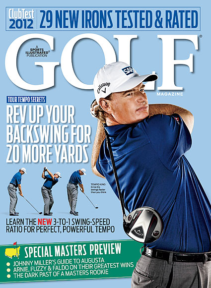 APRIL Tempo king Ernie Els graced the cover of the April issue and shared his driving secrets.
