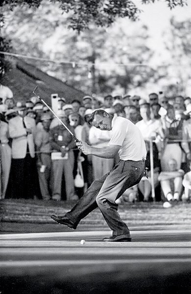 the King, cavorted on the dance floor at Cherry Hills during his epic charge at the 1960 U.S. Open.