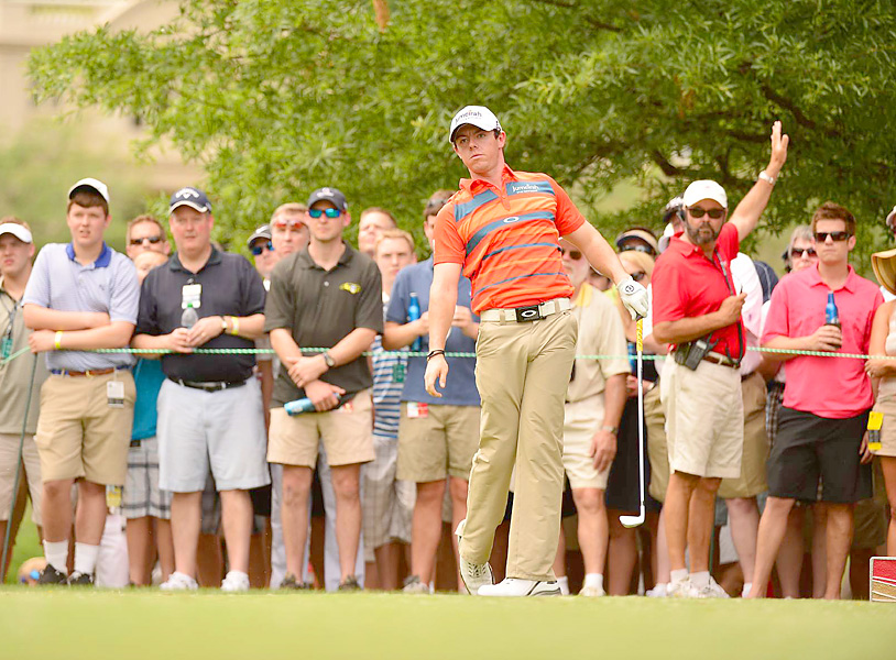 Rory McIlroy shot a 66 on Saturday.