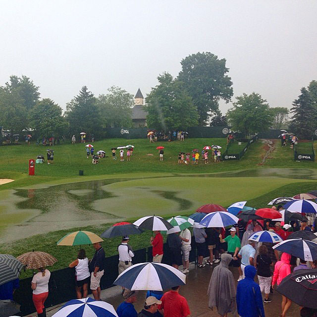 @balionis                           This used to be the practice putting green... @pgachampionship #valhalla