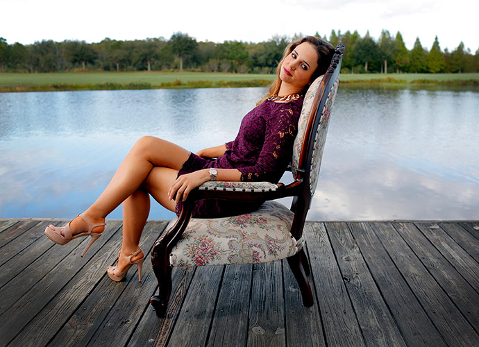 """Beatriz Recari, 26, Professional Golfer: """"Because I'm very serious on the golf course, people think that I'm very quiet and reserved. But I'm not."""" See her full gallery."""