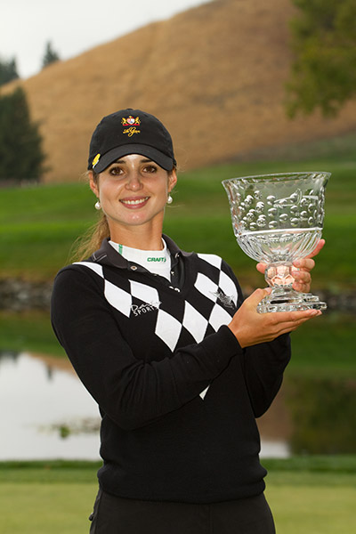 Recari would go on to win the tournament, her first LPGA victory.