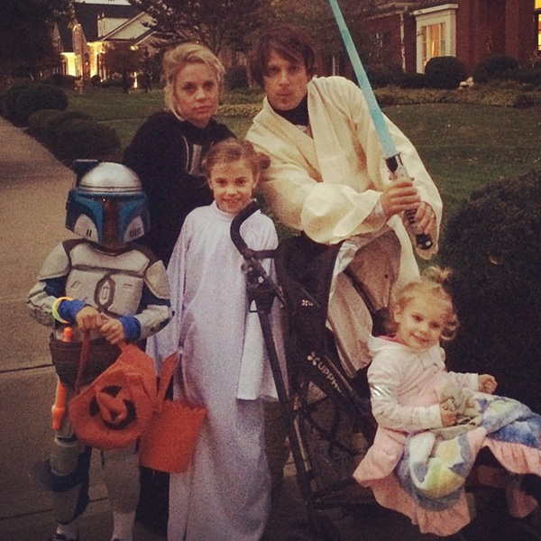 @bencranegolf Lightsaber? Princess Leia? Hairpiece? May the force be with you this Halloween....