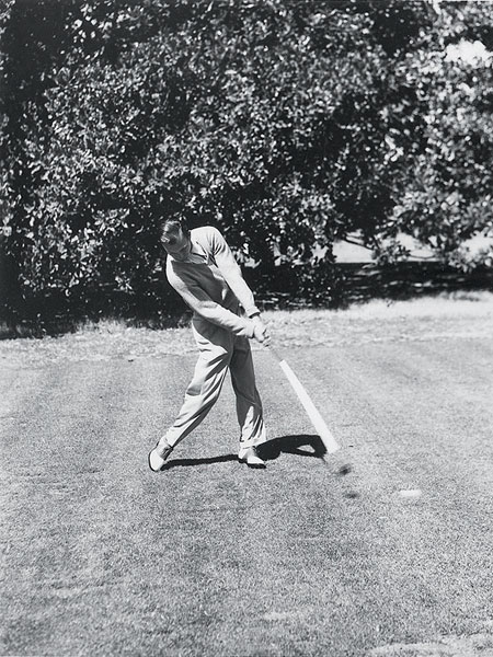 Often imitated, sometimes duplicated, this is Ben Hogan's position just after impact captured on film in the late 1940s. It's still worth copying today.