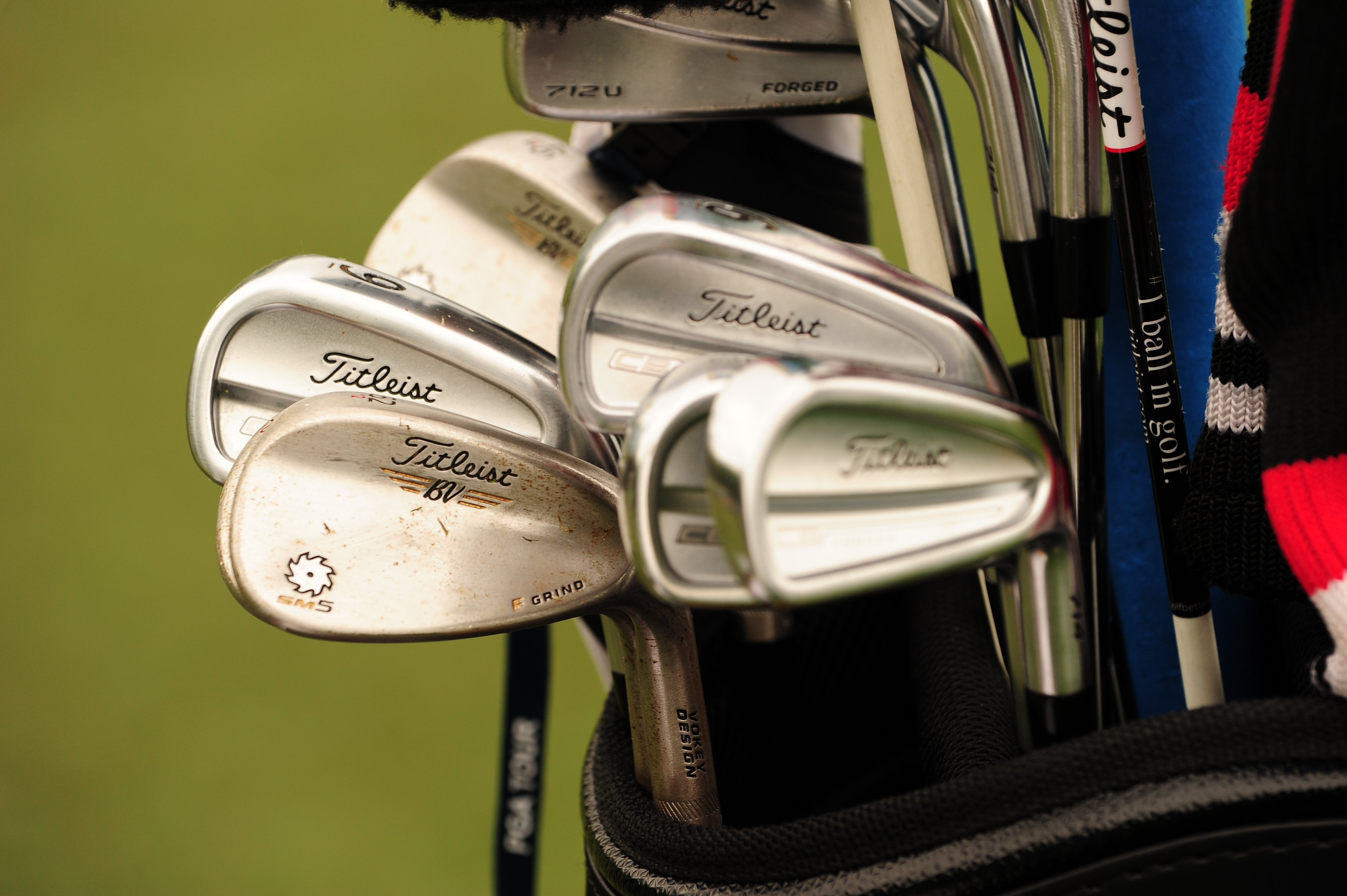 Titleist player Ben Kohles carries CB Forged irons, Vokey SM5 wedges, and a 712U driving iron, among other things.