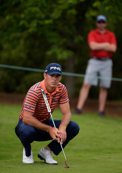 Billy Horschel kept himself in contention with a second-round 68. He ended the day -5, seven shots back of Ben Crane.