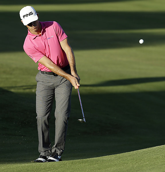 Billy Horschel failed to get his game going, finishing with a 71.