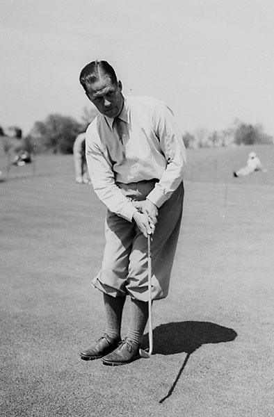 """No. 7: Bobby Jones                             Playing Career: 1919-1930                             From the desk of Top 100 Teacher Dr. Gary Wiren: """"Nobody — nobody! — bags 13 majors in 20 attempts, wins 9 out of 10 matches in Walker Cup play, and does it all before retiring at the ripe old age of 28 without owning an all-time great putting game."""" The good doctor is right, despite how little is written about Jones' stroke compared to his full swing. In fact, Jones' putter, """"Calamity Jane"""" has gained more notoriety, but, as Top 100 Teacher Jim Murphy points out, """"Augusta's greens weren't built by someone who feared putting. They were designed to separate great putters from merely good ones."""""""