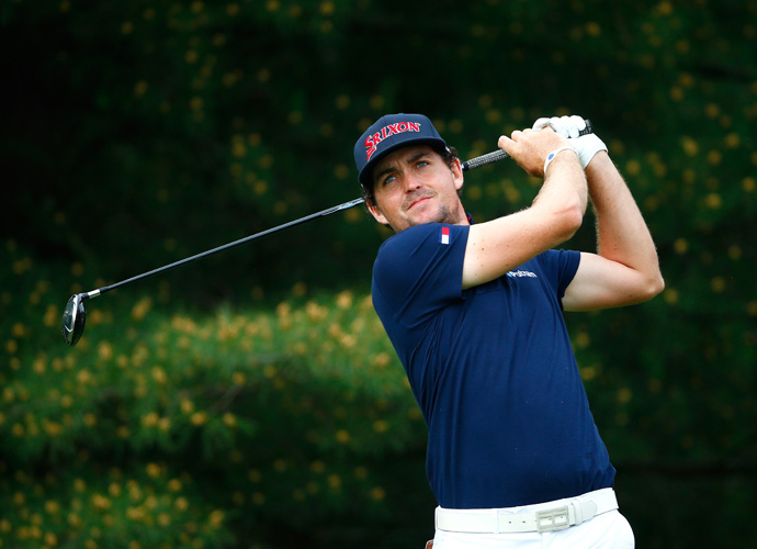 Keegan Bradley                             Bradley has been dating Jillian Stacey for a few years now, made very noticeable once we saw plenty of her with Amy Mickelson, following their favorite men during the 2012 Ryder Cup. We'll have to wait and see if Stacey makes the trip to Scotland for the 2014 Ryder Cup.