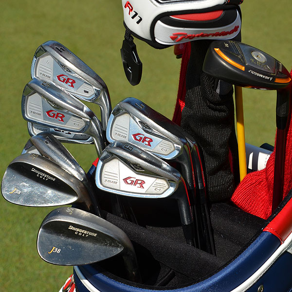 Brandt Snedeker uses Tourstage GR C-1 irons and Bridgestone J38 wedges. The company is a Japanese sister-brand of Bridgestone.