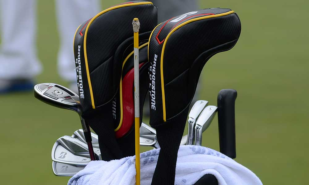 Brandt Snedeker plays Bridgestone's J40 Cavity Back irons and also uses an Adams idea hybrid.
