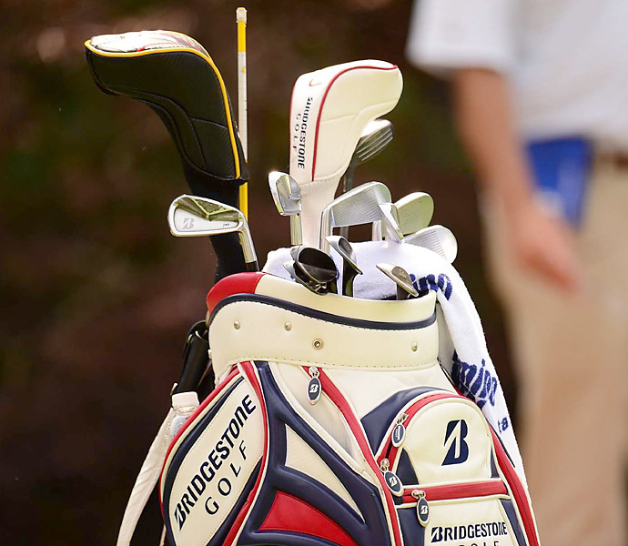 Brandt Snedeker's choice of irons are Bridgestone J40s.