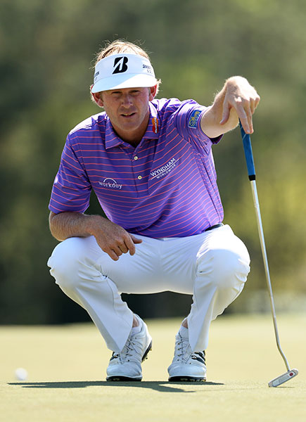 Brandt Snedeker shot 70, good for a tie for fifth, two shots back of the lead.