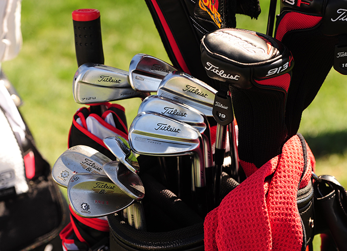 Brendan Steele has three new Vokey SM5 wedges in the bag.