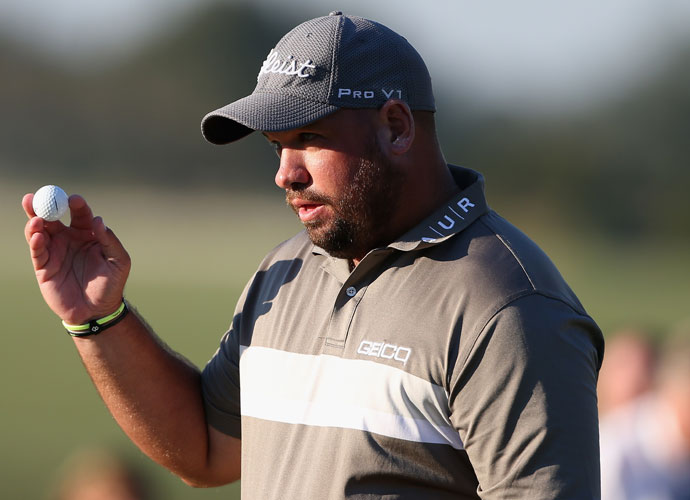 Zimbabwe's Brendon de Jonge closed with a 5-under 65 on Sunday to put himself in contention for the title.