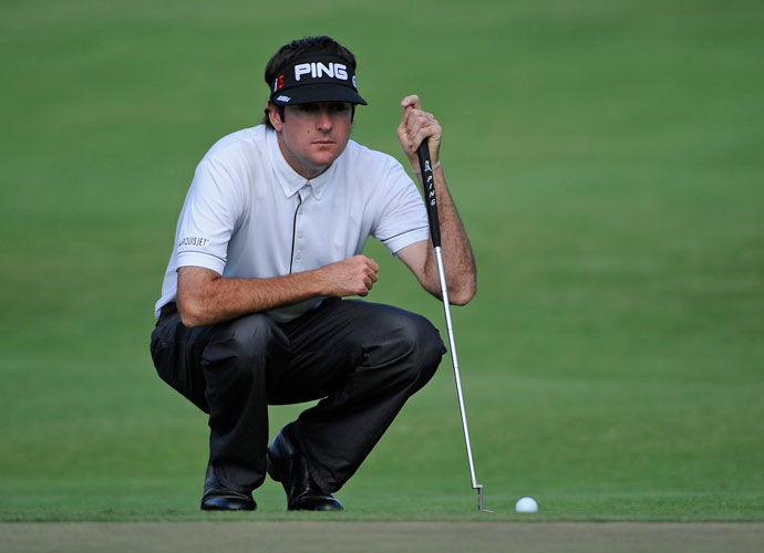 3. 416 Yards - 2010 Sony Open                             Bubba goes long -- way long -- again at Waialae. He launches a 416-yard drive and finishes T46.